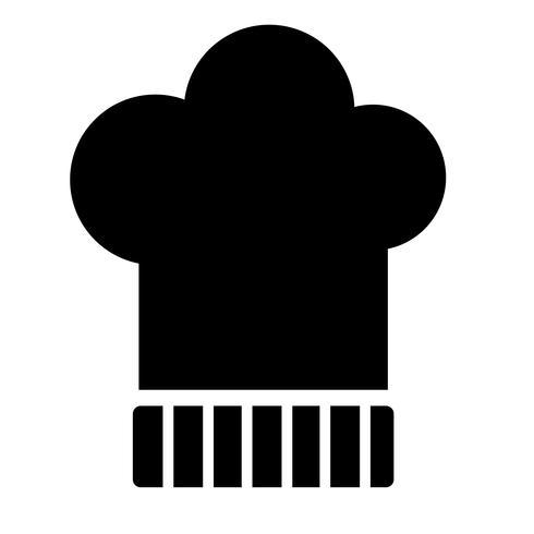 Chefs Hat Icon Vector
