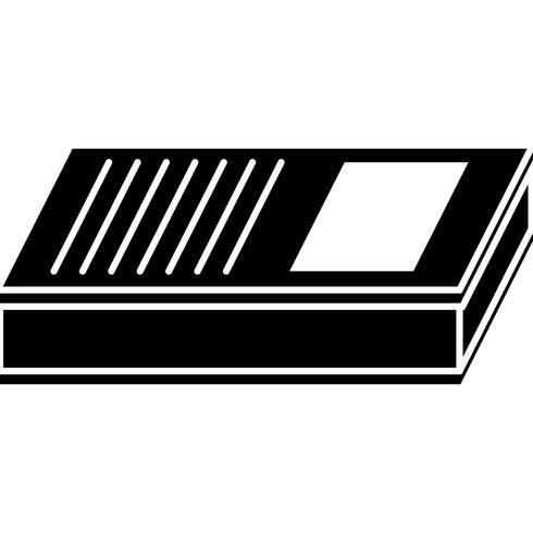 Skola bok ikon vektor