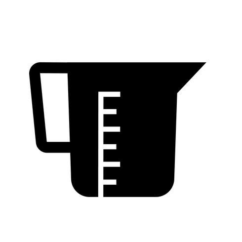 Küchenbecher Icon Vektor