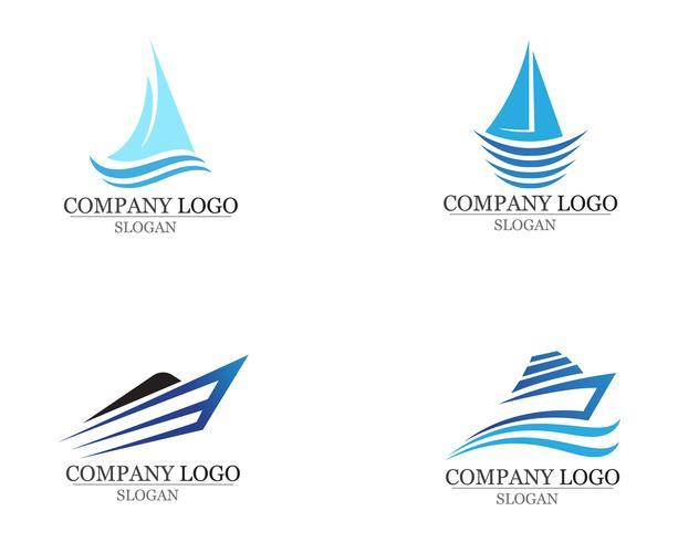 Ocean barco crucero liner nave silueta simple lineal