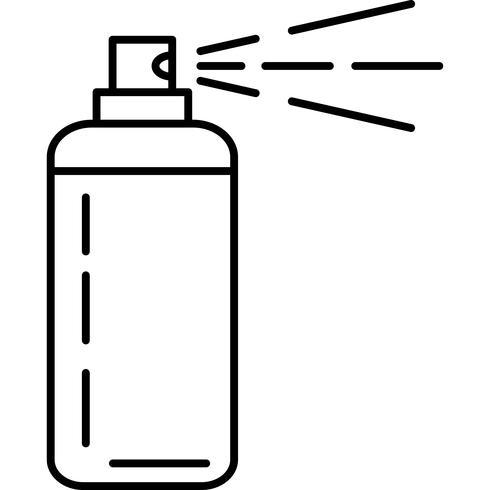 Vector icono de spray para el cabello