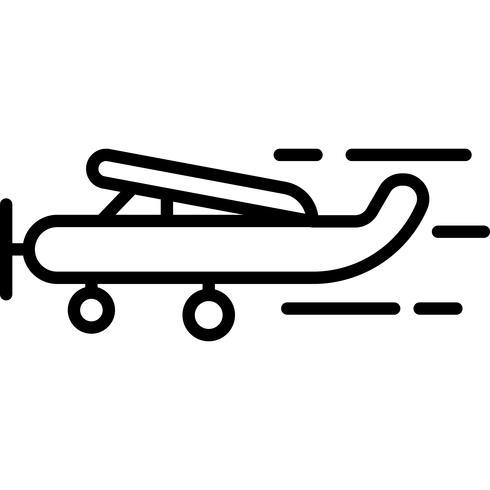 Flygplan Ikonvektor