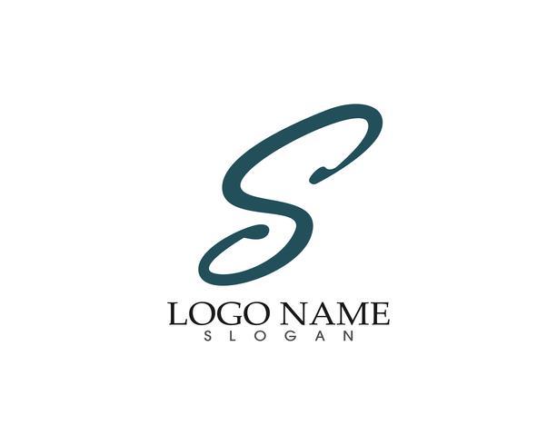 S logo símbolos plantilla vector iconos