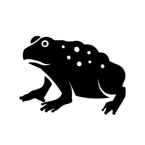 Cane Toad Icon Vector