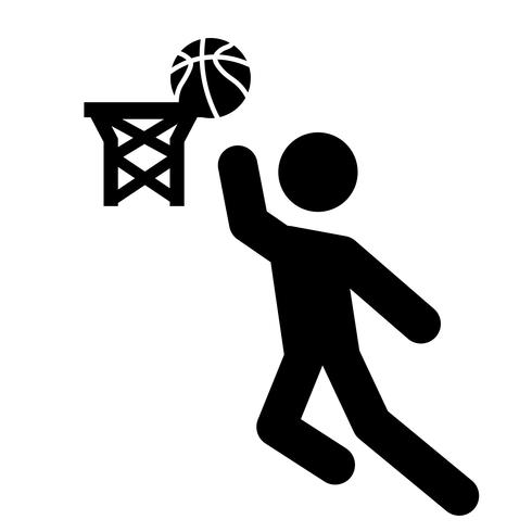Lay-up pictogram Vector