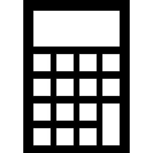 Kalkylator Ikon Vector