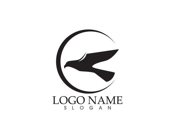 örn fågel underteckna abstrakt mall ikoner app