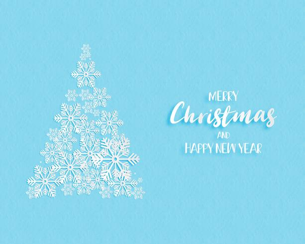Christmas and Happy new year greeting cards. vector