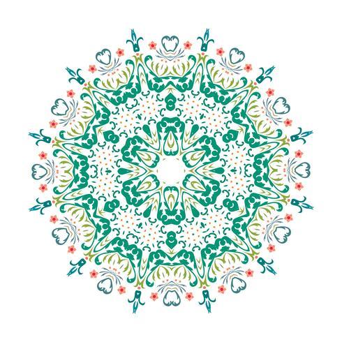 Conception d'illustration vectorielle floral Mandala