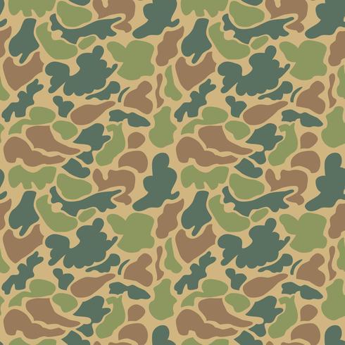 Patrón de camuflaje. Sin costura. Antecedentes militares. Soldado camou vector
