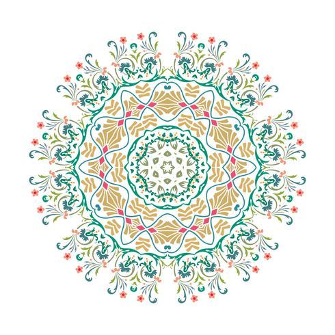 Conception d'illustration vectorielle Mandala