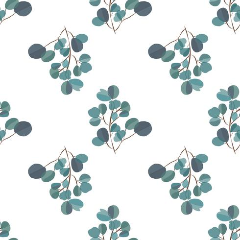 Brightl modern background with jungle leaves. Exotic pattern with palm leaves. Vector illustration