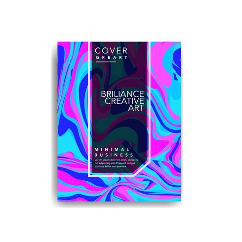 Marmeren dekens, trendy kleurrijke achtergronden. Eps10 gelaagde vector.