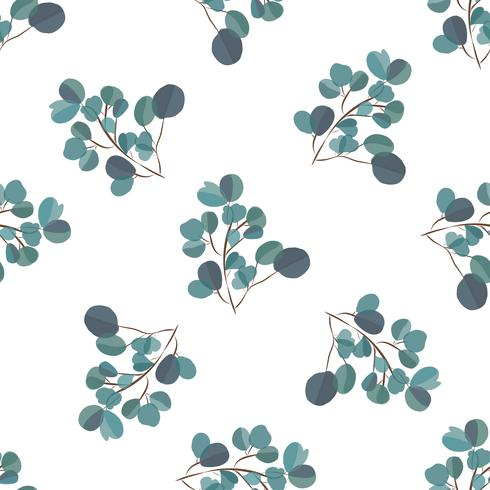 Bright modern background with jungle leaves. Exotic pattern with palm leaves. Vector illustration