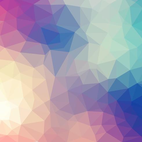 Geometrisk polygon bakgrundsdesign. Vektor illustration backgrond
