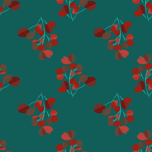 Sfondo moderno luminoso con foglie di giungla. Motivo esotico con foglie di palma. Illustrazione vettoriale