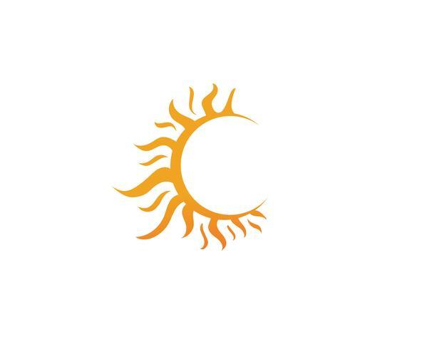sollogo vektor mallar