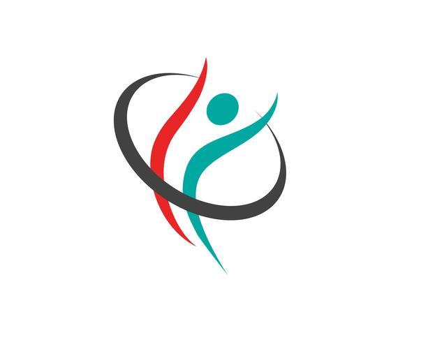 Estrella éxito personas cuidado logotipo y símbolos