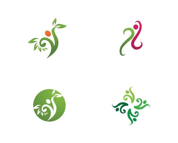 Sternerfolgsleute interessieren sich Logo und Symbole