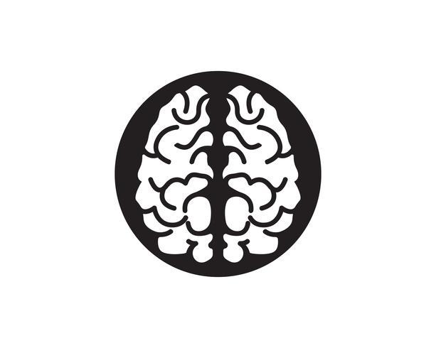 Gehirn Logo Template und Symbole Symbole App