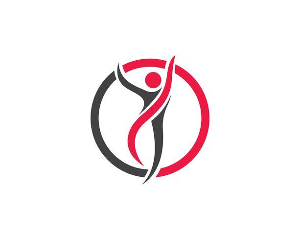 Hälsofolkens logotyper och symbolmallikoner