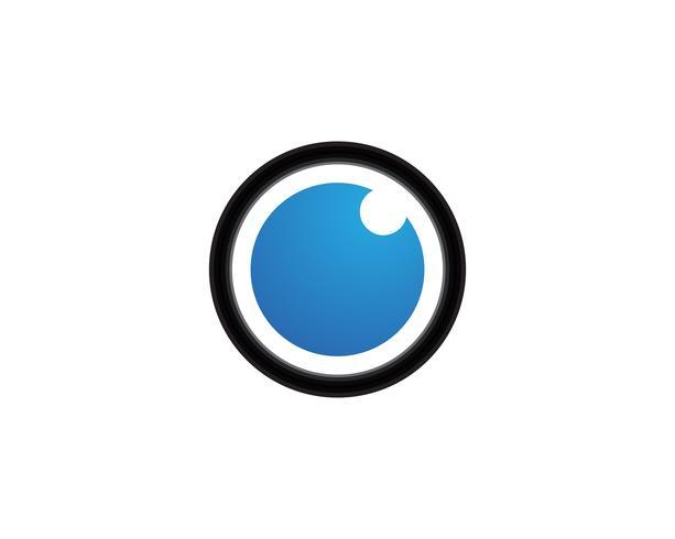 Augenpflege-Vektor-Logo-Design-Vorlage