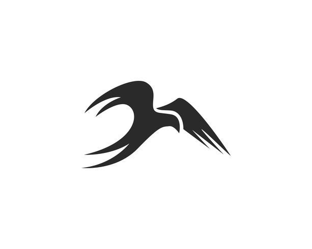 Bird Logo Mall vektor illustration