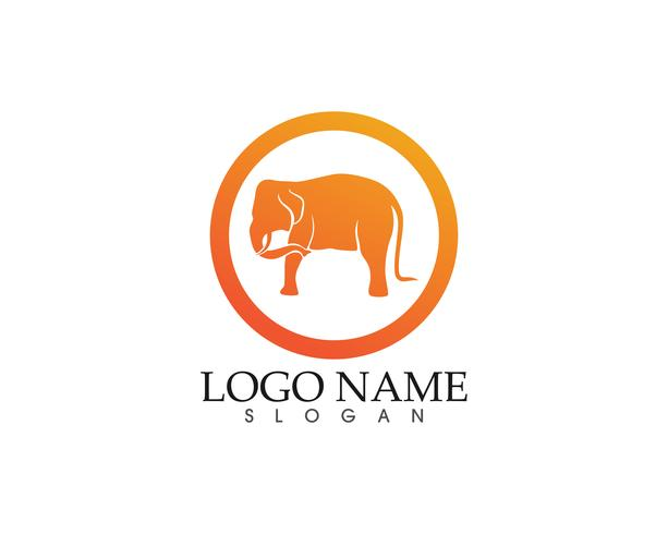 olifant vector logo en symbolen sjabloon app