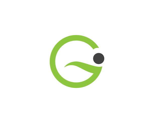 G letters logo and symbols template icons app..