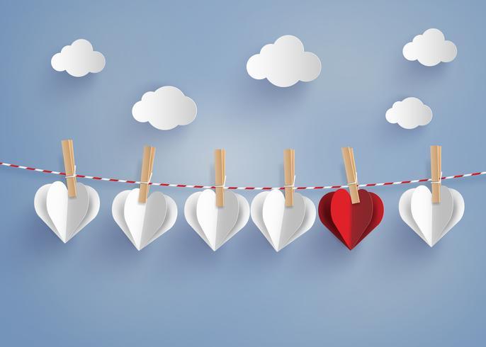 papieren hart vorm opknoping op de lope