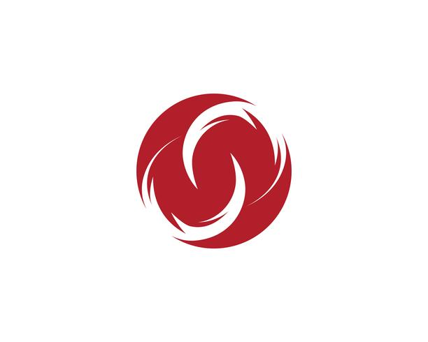 ícones de modelo de logotipo e símbolo do infinito
