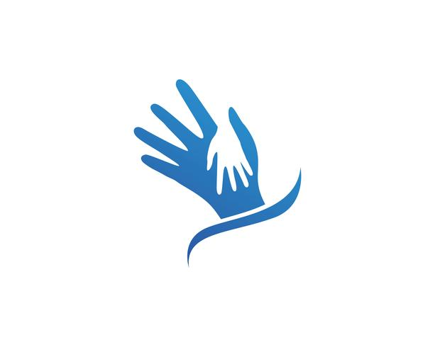Helfen Sie, Logo- und Vektorschablonensymbole zu übergeben