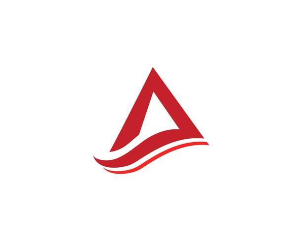 A Logo Business Template Vector