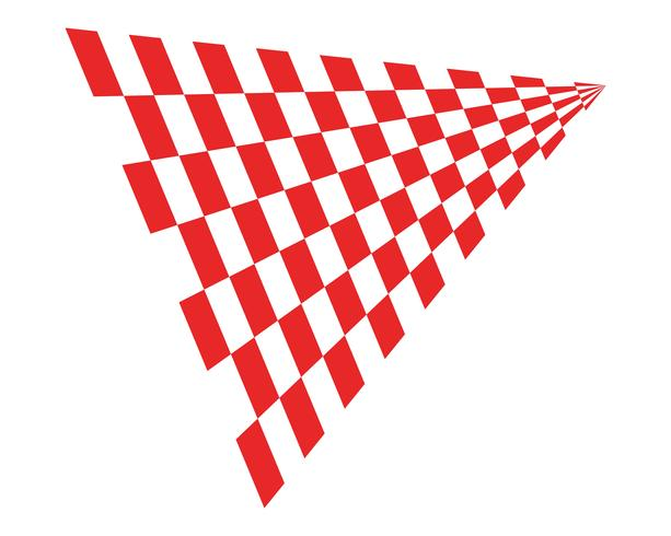 flaggmalllogotyp och symbolvektorer