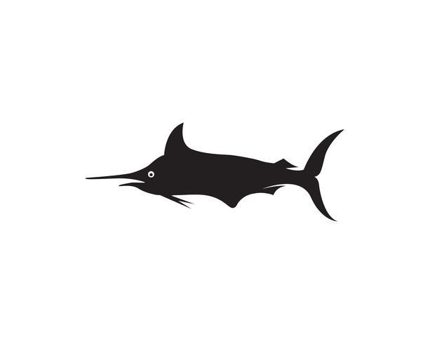 Icono de logo y símbolos de Marlin Jump Fish
