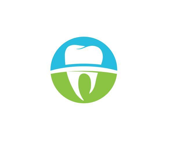 Logo dentaire modèle illustration vectorielle
