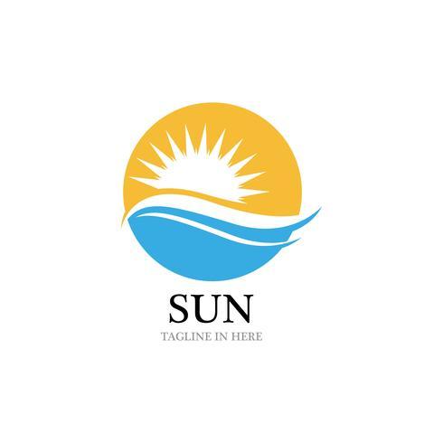 Sun Vector illustration Icon