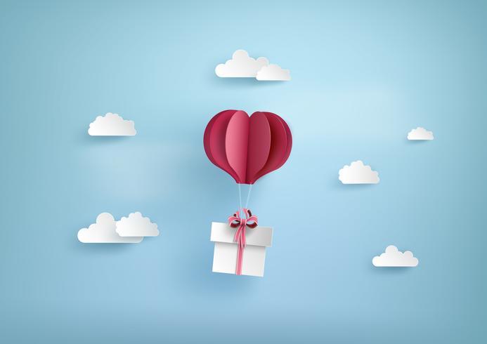 Illustratie van liefde en valentijnskaartdag