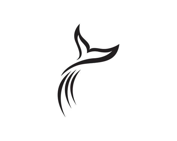 Delfino pesce logo e simboli animali