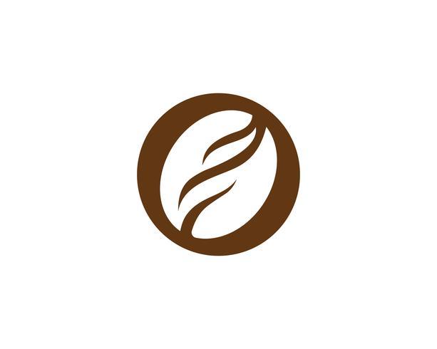 Kaffee Logo Vorlage Vektor Icon
