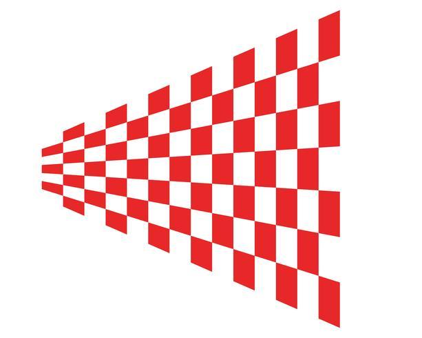 flag template logo and symbol vectors