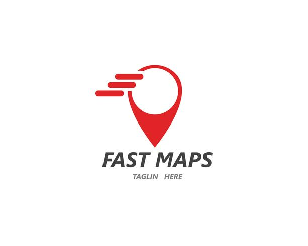 Location point Logo vector template