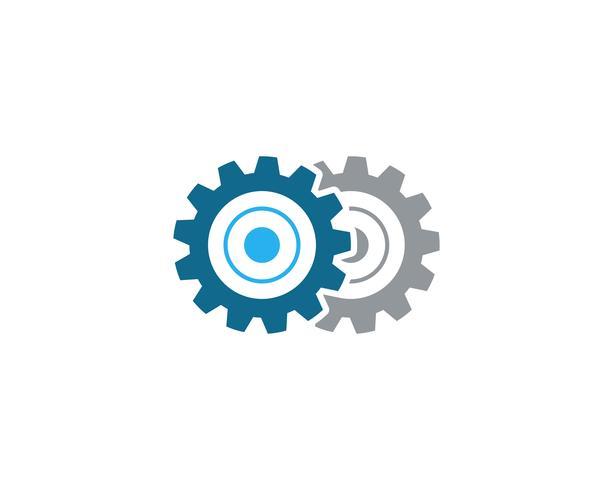 Gear Logo Template ícone vector