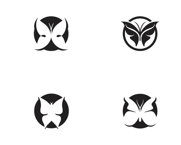 Beauty Butterfly icon design vector