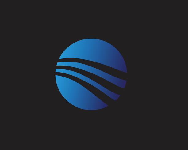 Cartel moderno colorido del flujo. Forma líquida de la onda en fondo azul del color. Diseño de arte para tu proyecto de diseño. Ilustración vectorial