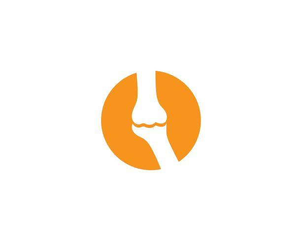 Bone logo vettoriale modello vettoriale