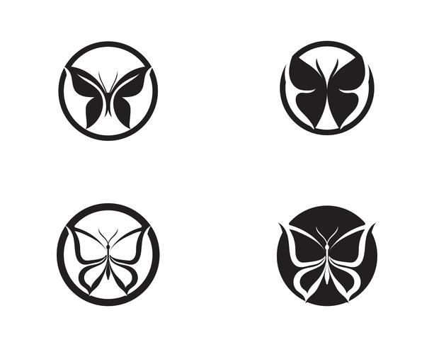 Beauty Butterfly Icon Design