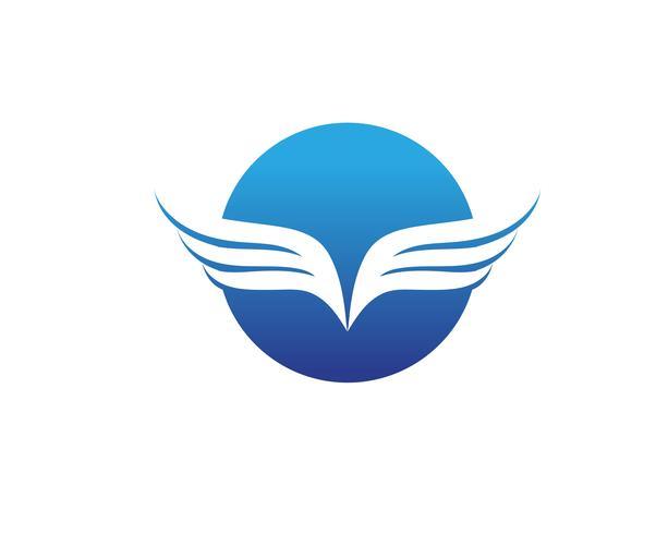 Falcon Logo Template vecteur