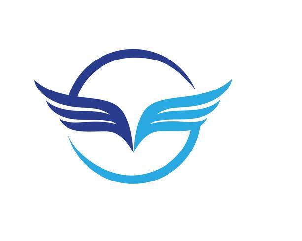 Falcon Logo Vorlage Vektor