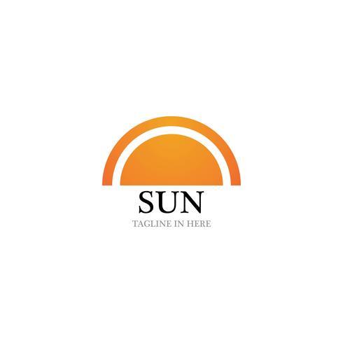 Sol, vetorial, ilustração, ícone